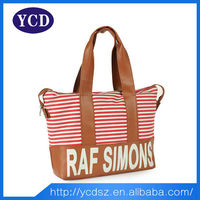 Korean Women daily used polyester tote bag for shopping