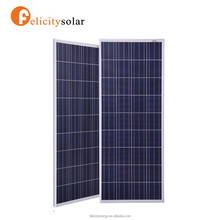 Felicitysolar china supplier high quality 200w poly cheapest round mounting solar panel