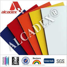 lightweight wall finishing material/decorative acp exterior wall panel aluminum composite panel