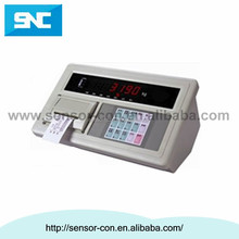 XK3190 A9 static weighing system equipped with 1~8 load cell truck scale indicator with printer