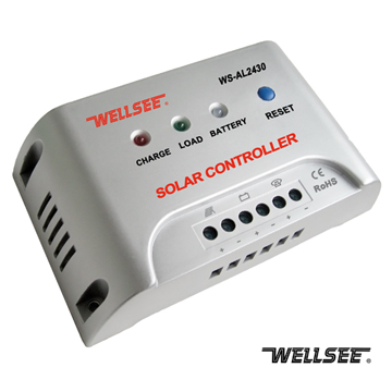 wellseelamp controller adjust light WS-AL2430 solar street light controller 48v wind charge controller