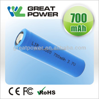 3.7V 14505 quality rechargeable lithium ion battery