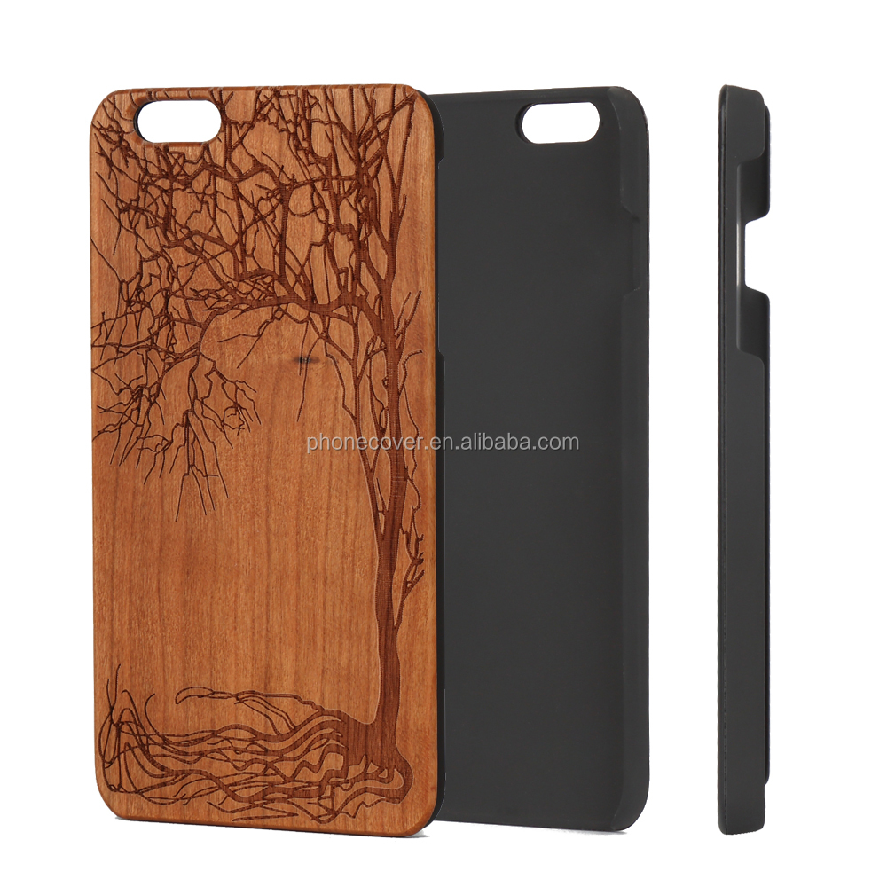 design your own logo super thin 3d sublimation mobile phone case for iphone6 ,blank wooden cover for iphone6s hard shell