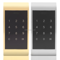 1x Touch Keypad Password Key Access Lock Digital Electronic Security Cabinet Coded Locker