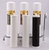 Portable Counter top three stage PP CTO Ceramic Water Filter, Kitchen Countertop Water Filter