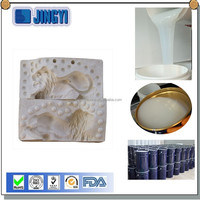 RTV liquid silicone rubber as make mold for casting gypsum