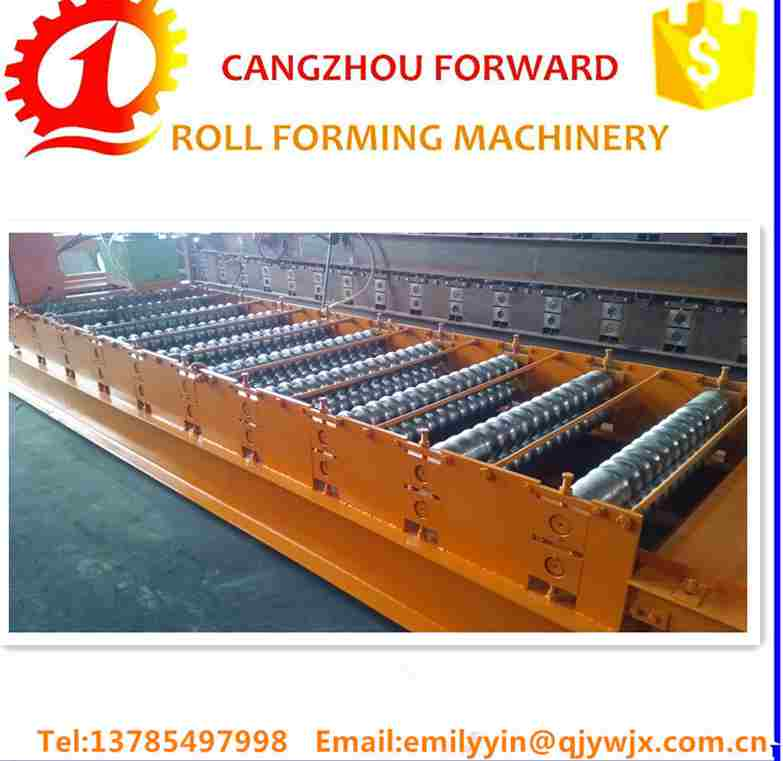 High Efficiency Metal Roof Tile Making Used Steel Rolling Machine For Sale