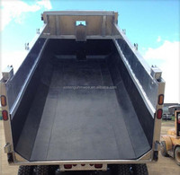 UHMWPE chute liner/coal bunker/UHMWPE truck bed liner for coal chute