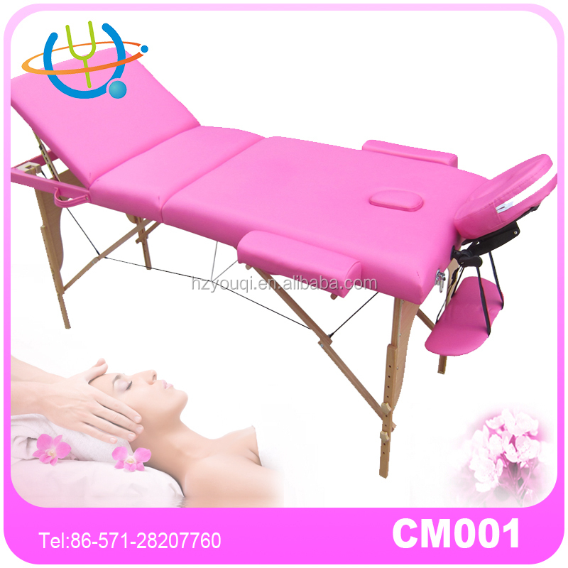 wooden spa table table de massage used beauty salon furniture