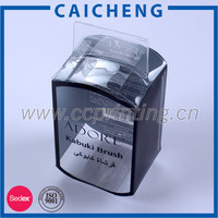 Clear acetate folding printed PET packaging box