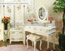 UK children furniture design wihte cheval wardrobe dressing table mirrors