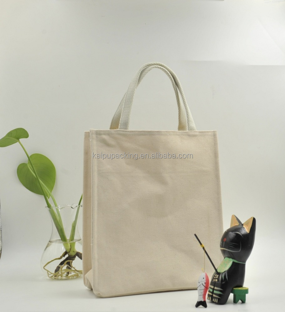 Wholesale reusable cotton bag/canvas cotton shopping bag