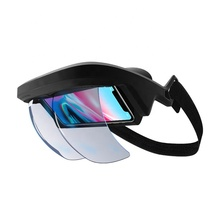 New Design Smart AR <strong>Glasses</strong> <strong>3D</strong> Video Augmented Reality <strong>VR</strong> <strong>Glasses</strong> AR Headset for <strong>3D</strong> Videos and Games