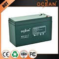 High page yield high quality 12V 7ah excellent quality battery rechargeable