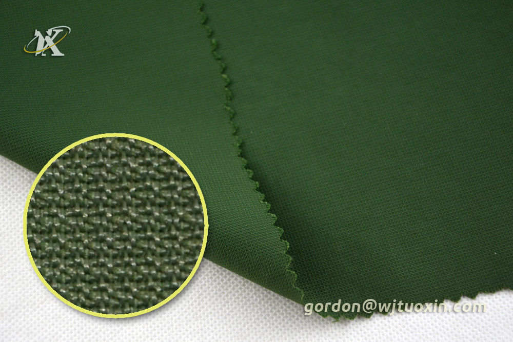 Waterproof Dobby Taslan Nylon Fabric, Printed Polyamide Honeycomb Fabric