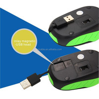 Factory supply retractable mini USB mouse ,OEM gaming mouse,optical mouse gaming