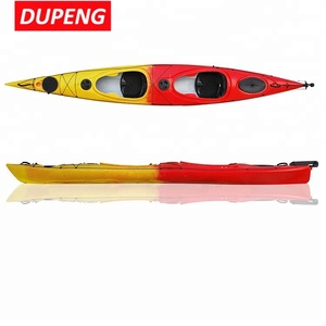 Factory supply multi-color professional sea kayak 2 person FOR Touring