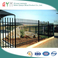 Chinese products wholesale hot dip galvanized palisade fencing