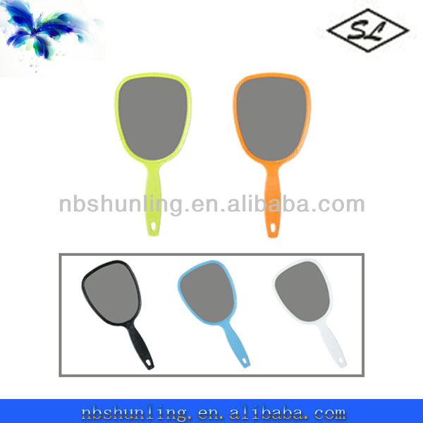 single-side plastic small hand held mirrors wholesale