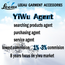 Professional yiwu market garment accessories sorucing buying service yiwu agent