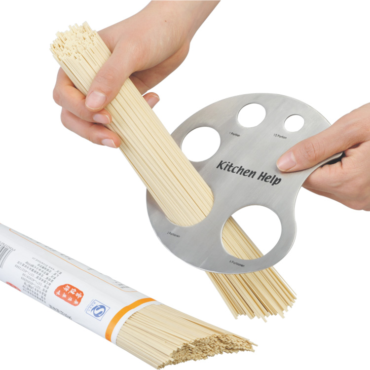 S/S 5.4*28.6*2.8 High quality kitchen measuring tools stainless steel pasta measure/noodle measure