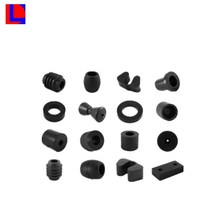 Customized black rubber plugshard rubber block