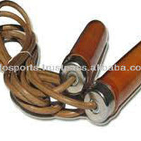 EXERCISE JUMP ROPE LEATHER SKIP ROPE