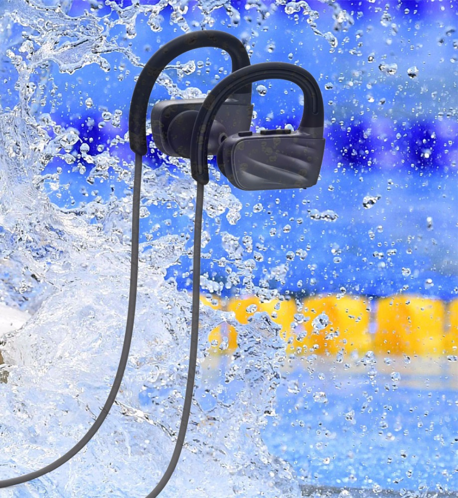 swimming accessories mp3 player with bluetooth sports wireless headphone