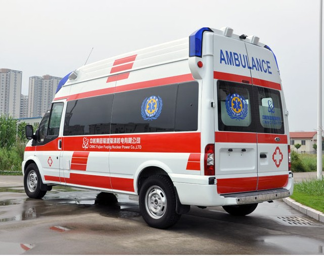 2014 ford transit high roof ICU ambulance