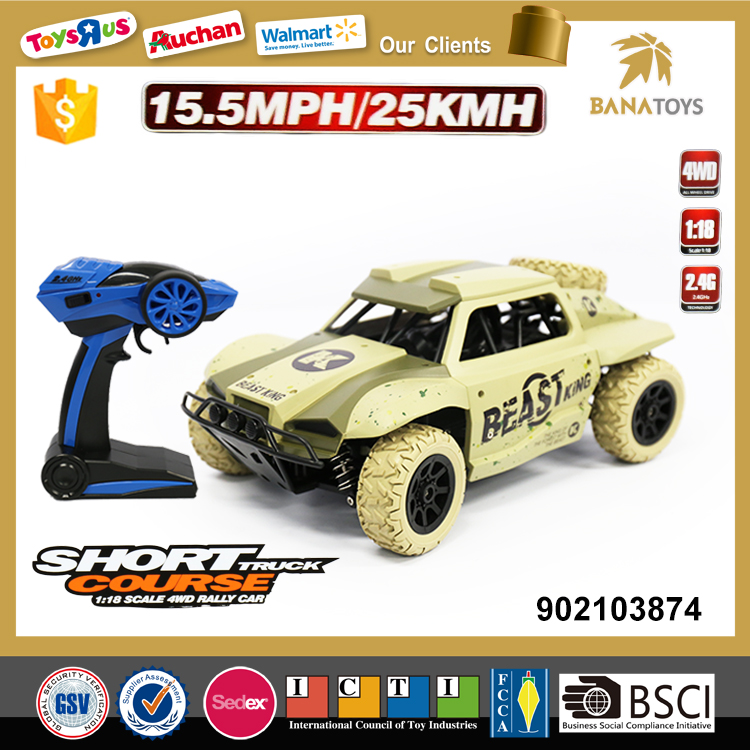 1:18 new products 2017 rc car racing play games