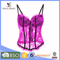 Delicate Flower sexy night lingerie wholesale sexy lingerie china