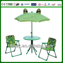 animal cartoon kids patio set for casual time