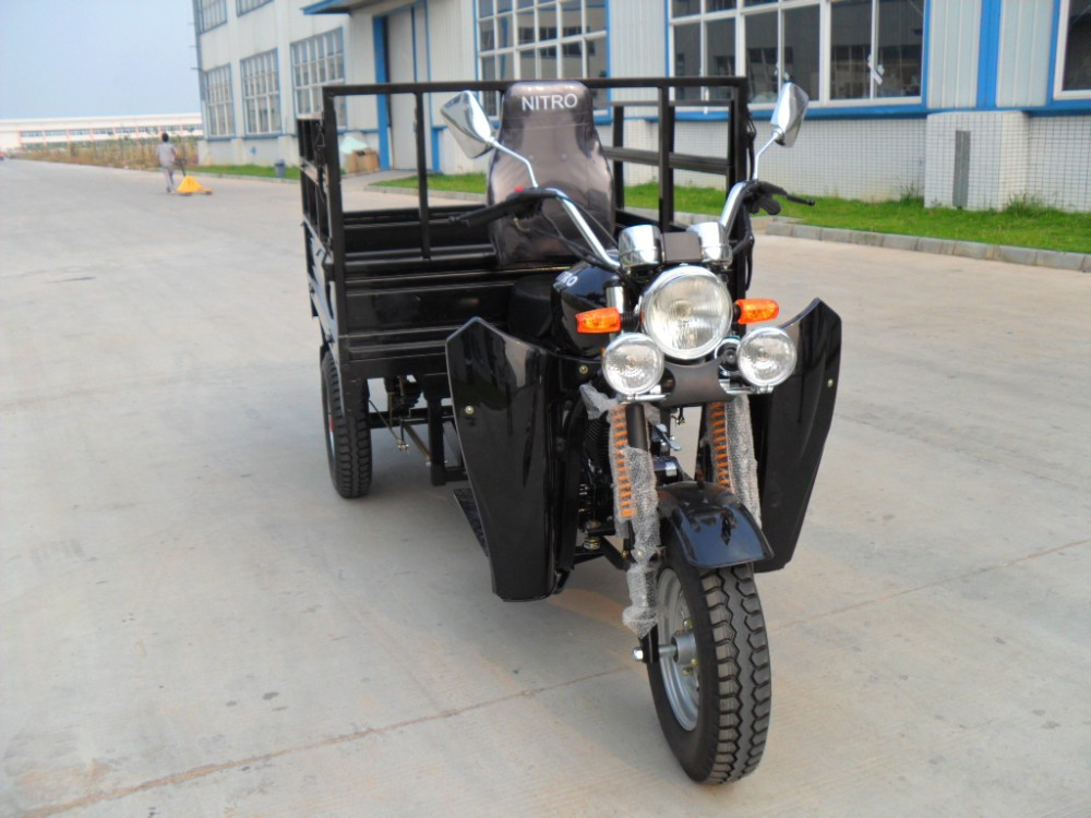 Popular Heavy Load Strong Cargo 250cc Chinese Three Wheel Motorcycle