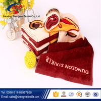 Premium quality and soft OEM order of cotton sports towel