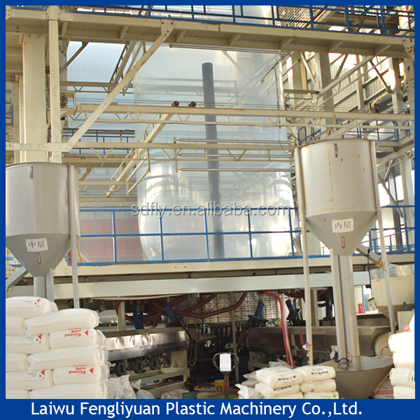 3 layer 14 meter greenhouse film blowing machine