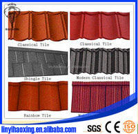 Metal(steel) Roof Shingle/colours Roofing Tiles