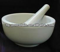 Alumina Porcelain Mortars and Pestle For Industrial and Laboratory Analysis Applications