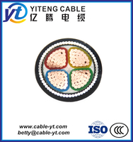 low voltage copper conductor xlpe insulated pvc sheathed 2x1 5 4x1.5 power cable