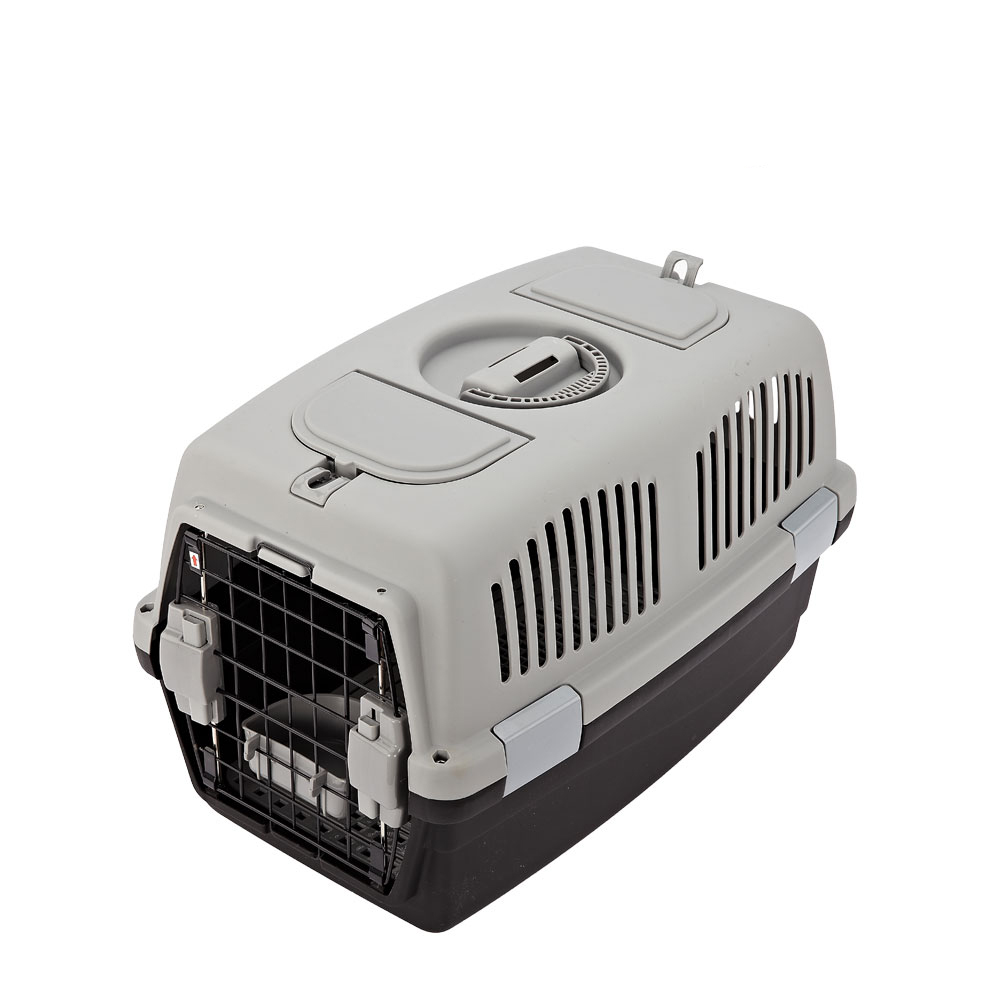 Tops pet products Plastic dog transport cage pet travel carrier