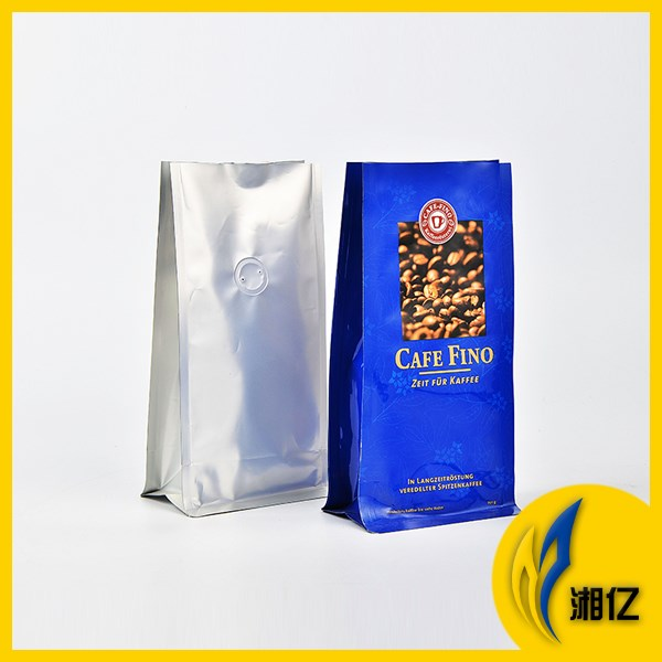 Quad-Seal Resealable Gusseted Food Packaging Bags with Zipper