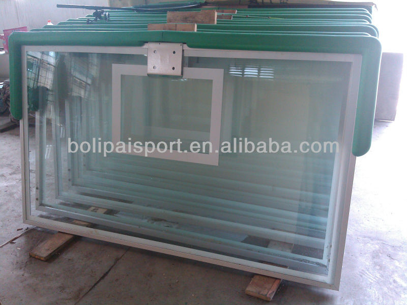 tempered glass basketball backboard factory