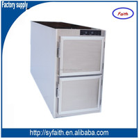 Alibaba china 2 corpses morgue freezer, morgue cabinet, morgue cooler