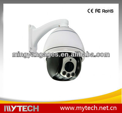 3.5 inch pan tilt mini high speed dome PTZ camera 700TVL IR camera 10X ZOOM