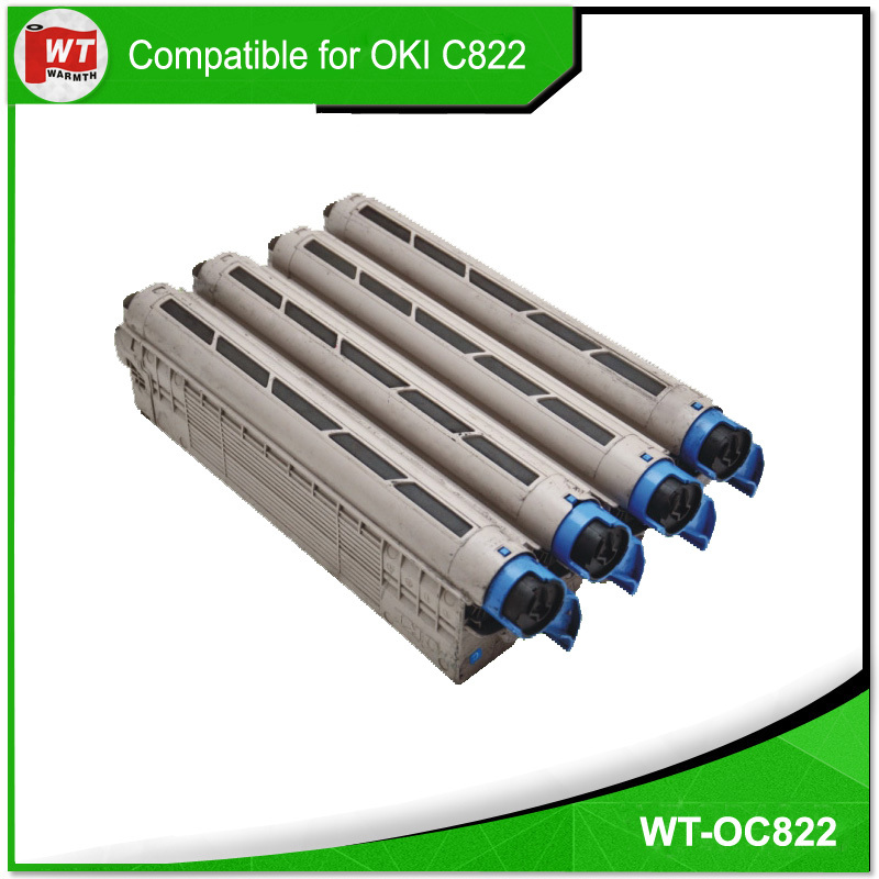 New product compatible toner for OKI C822/831
