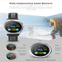 The digital barometer smart mobile watch phones HD camera android smart watch X10 heart rate monitor smart wristband