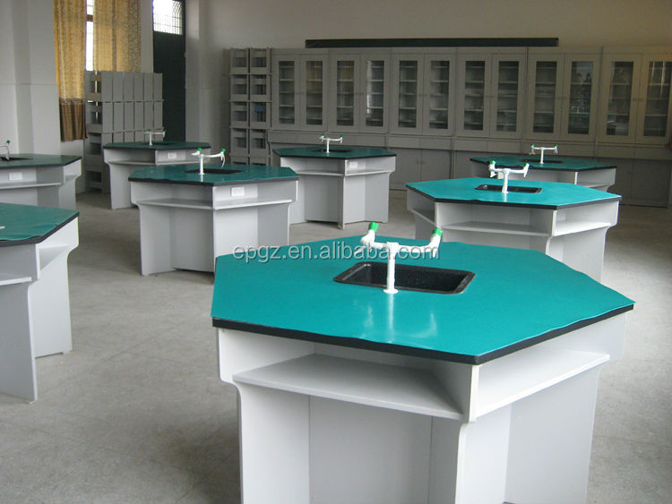 Laboratory School Furniture Center Bench
