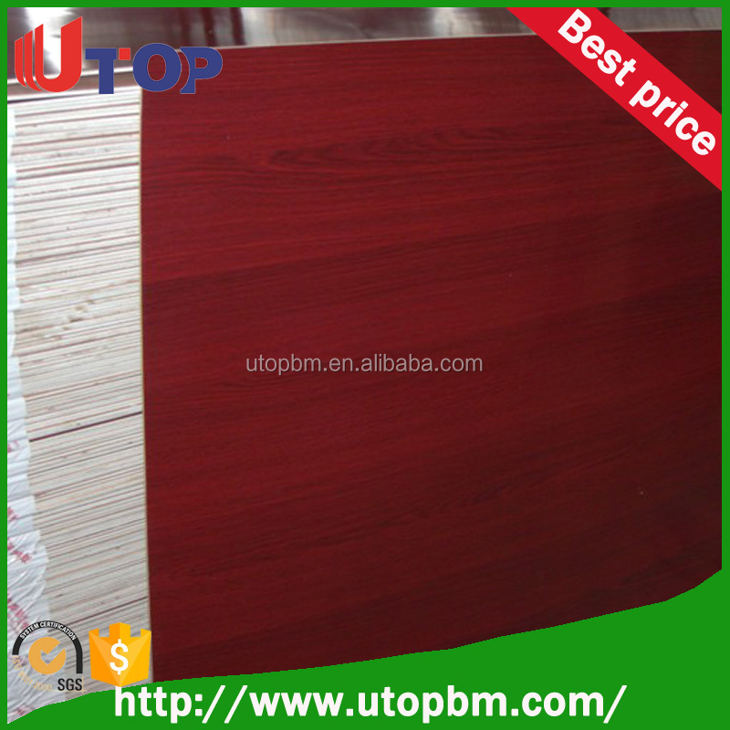 Different colors poly board/ poly plywood hot press from China