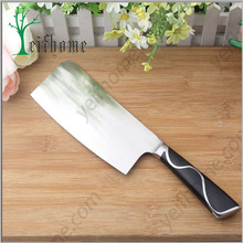Beautiful tungsten kitchen knife cleaver knife