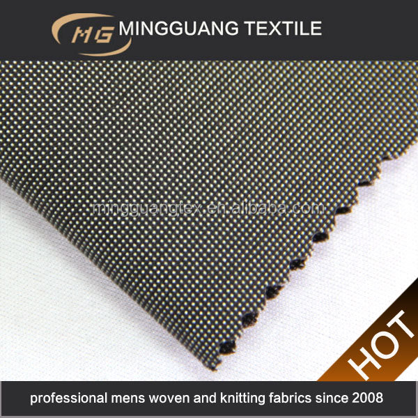 2015 new design woven polyester rayon peruvian textiles fabric for suiting from China factory