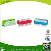 Taizhou factory special design hot sell Plastic nail brush/plastic mini brush /plastic cleaning brush